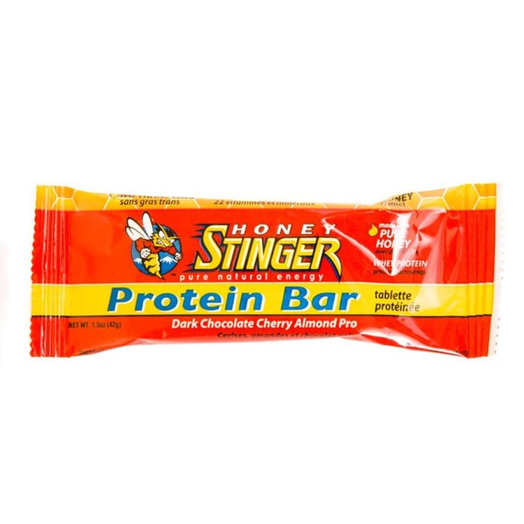 Honey Stinger ダークチョコレートチェリーアーモンドプロ プロテインバー