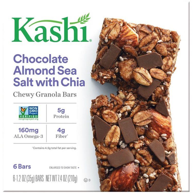 Kashi チョコレートアーモンドシーソルトチューイグラノーラバー