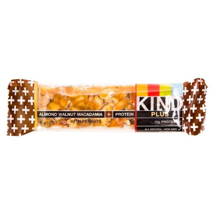 KIND アーモンドくるみマカダミアとピーナッツプラスプロテインフルーツ&ナッツバー