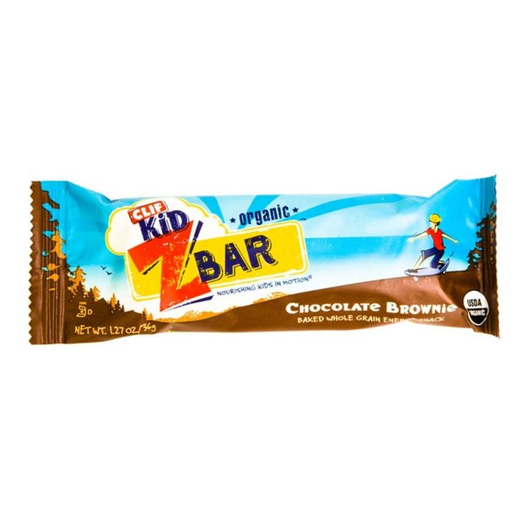 Clif KidR オーガニックZバー チョコレートブラウニーエナジースナック