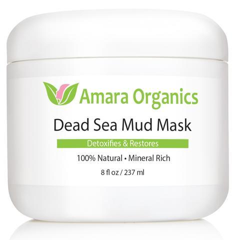 アマラオーガニック 死海のマッドマスク / Dead Sea Mud Mask for Face and Body
