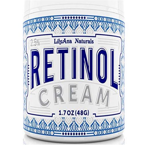 LilyAna Naturals Retinol Cream Moisturizer 1.7 Ozレチノールクリームモイスチャライザー