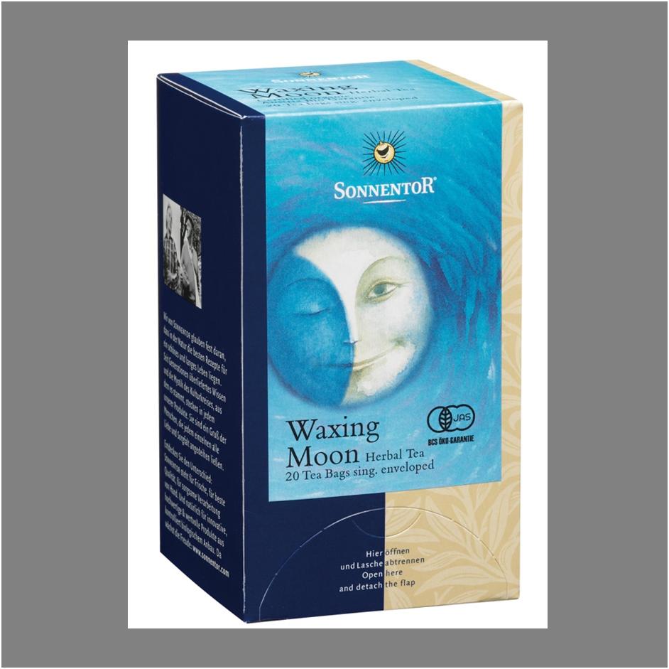 上弦のお茶(Waxing Moon)