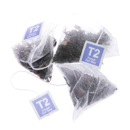 T2 フレンチアールグレイ ティーバッグ25個入り French Earl Grey Teabag Gift Cube