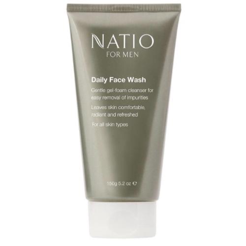 Natio Men's Daily Face Wash 150g