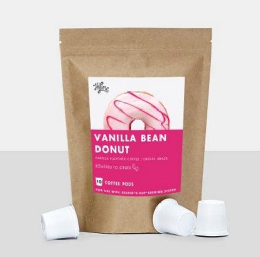 ハイラインコーヒー KEURIG(キューリグ)対応 K-cup バニラビーンズドーナッツ (VANILLA BEAN DONUT)