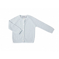天然竹カーディガン 3〜24ヶ月 /Blue BAMBOO CHIC LITE® INFANT CLASSIC CARDIGAN