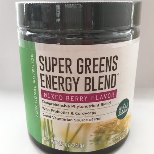 WHOLE FOODS オリジナル SUPER GREENS ENERGYブレンド パウダー