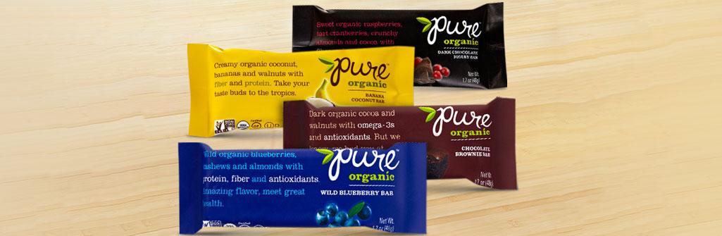 Pure Organic ナッツバー ベストセラーセット3x4本入り