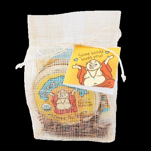 ビーガンご用達♪万能石鹸&クリーム&リップセット【ブッダオーガニクス★Booda Organics】