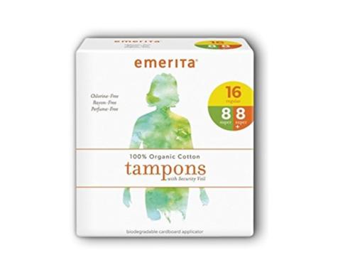 エメリタ オーガニックコットンタンポン マルチセット (Emerita Organic Cotton Multipack Tampons)