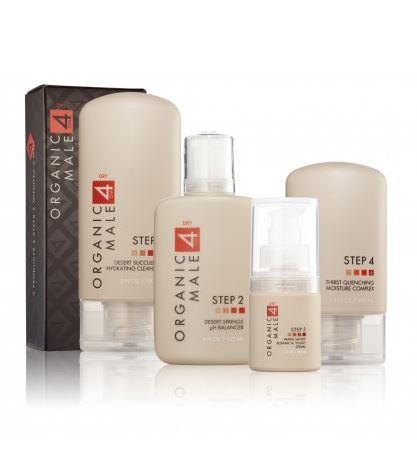 オーガニックメール 乾燥肌用スキンケアセット (Organic Male OM4 Dry 4-Step RegiMEN)