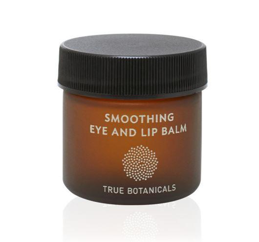 トゥルーボタニカルス アイ&リップバーム (True Botanicals Smoothing Eye & Lip Balm Jar)