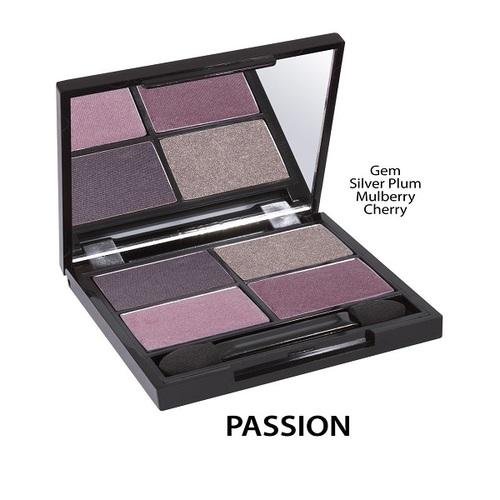 オーガニックフローラ アイシャドウ 4色パレット 全8種類~ (Passion)