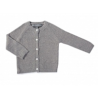 天然竹カーディガン 3〜24ヶ月 /Pewter BAMBOO CHIC LITE® INFANT CLASSIC CARDIGAN