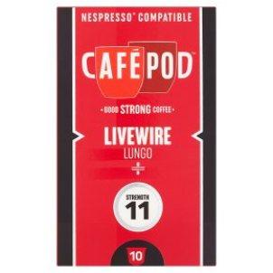 CafePod -Livewire Lungo- Nespressoカプセル