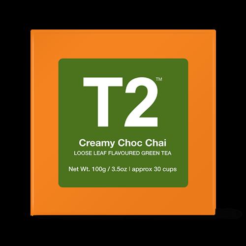 クリーミーチョコレートチャイ*リーフ100g Creamy Choc Chai Loose Leaf Cube