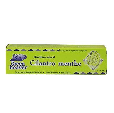 グリーンビーバー 歯磨き粉 コリアンダーミント (Green Beaver Toothpaste, Cilantro Mint)