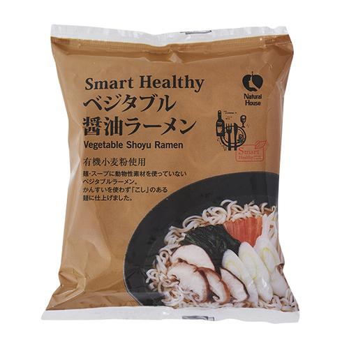 オーガニック小麦使用 ベジタブルラーメン(醤油)