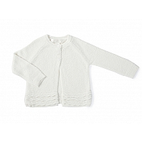 天然竹カーディガン 3〜24ヶ月 /Pearl BAMBOO CHIC LITE GIRL'S INFANT HEIRLOOM CARDIG