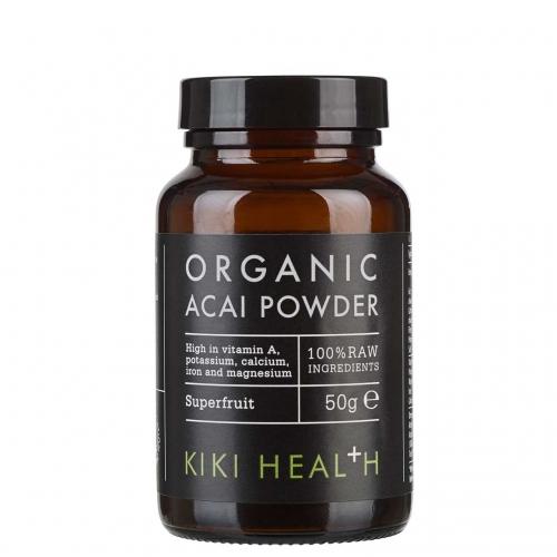 Kiki Health オーガニック アサイー パウダー 100% RAW