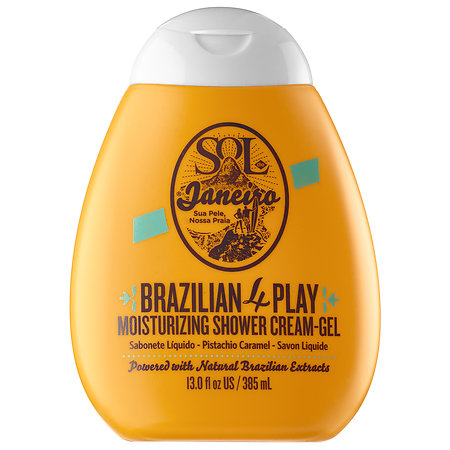 ブラジリア・4Play・モイスチャライジング・シャワークリームジェル『Sol de Janeiro』アメリカで大人気★『ソルデジャネイロ』