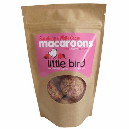 ヘルシースナック イチゴ&白チョコ風味 マカルーン / Strawberry & White Cacao Macaroons