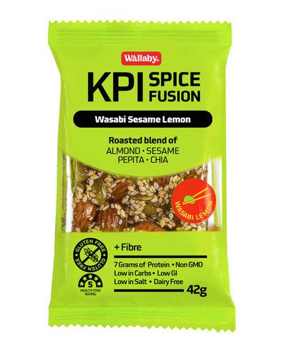 KPIスパイスシリーズ【グルテンフリー】ワサビ、セサミ&レモン 42g