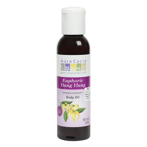 オーラカシア イランイランボディオイル (Aura Cacia Ylang Ylang Body Oil)