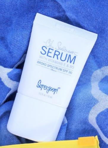 スーパーグープ!シティサンスクリーンセラム SPF30 15ml / Supergoop! City Sunscreen Serum