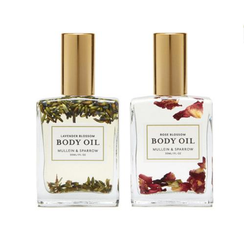 モリーン&スパロウ ブロッサム ボディオイルセット (Mullein & Sparrow Blossom Body Oil Set)