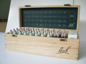Bach バッチフラワーレメディー プロフェッショナル セット 木製ボックス ケース