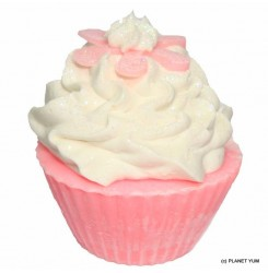 【非毒性天然石鹸】リリーカップケーキソープ110g Lily Cupcake Soap