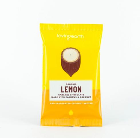 【 Loving earth】レモンチーズケーキチョコレート 30g Lemon Cheesecake Caramel Chocolate