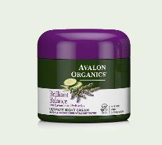 アバロンオーガニクス ブリリアント ナイトクリーム(Avalon Organics)