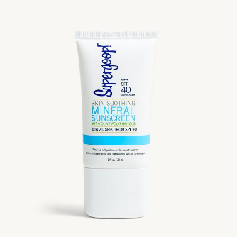 スーパーグープ!スキンスージングミネラルサンスクリーンSPF40 71ml /Skin Soothing Mineral Sunscreen