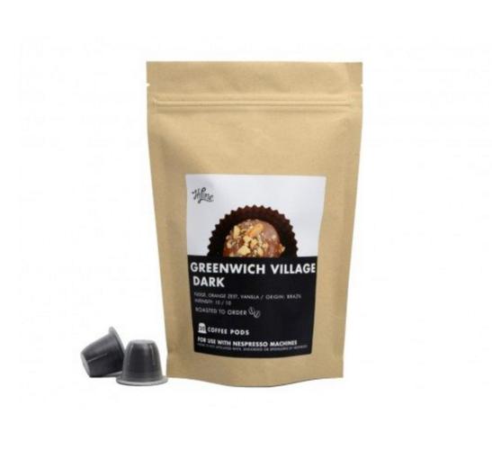 ハイラインコーヒー Nespresso対応カプセル グリニッチビレッジ ダーク (Hiline Coffee)