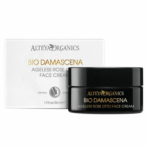 Alteya Organics Organic Bio Damascena Anti-Aging Rose Face Creamローズフェイ