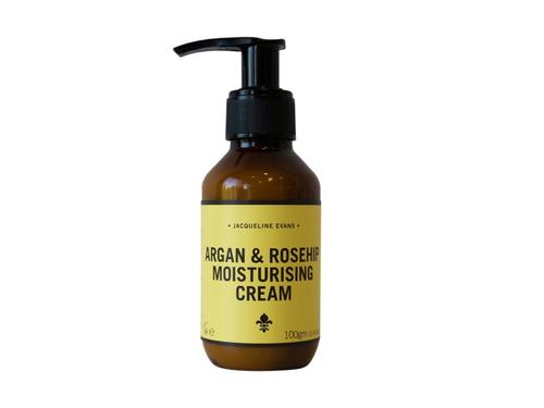 【オーガニック・保湿クリーム】アルガン&ローズヒップ モイスチャライジングクリーム 100g ※乾燥肌向け