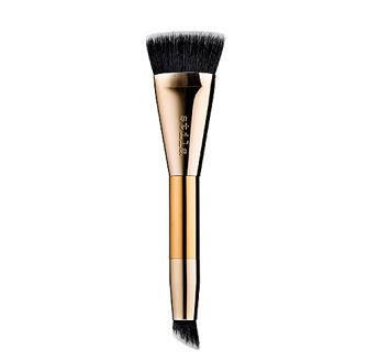 <デュアルエンド仕様のブラシ>ティラ シェイプ&シェードカスタムコントロールブラシ (Stila Shape & Shade Custom Contour Brush)
