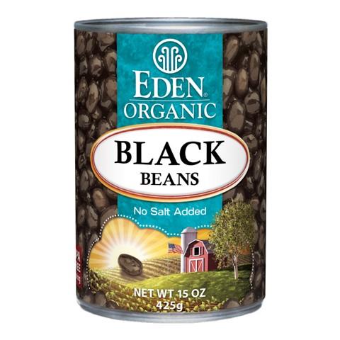 エデンフード オーガニックブラックビーンズ 缶 (Eden Foods Black Beans, Organic)