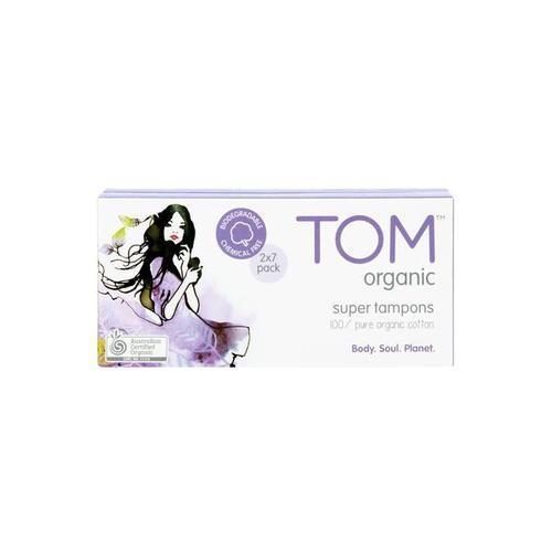 お得なおまとめセット TOM Organic オーガニック タンポン 28個 Organic super