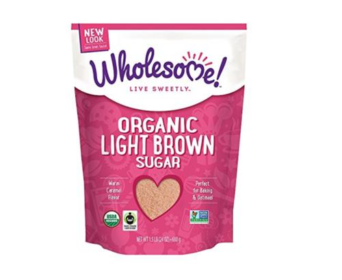 ホールサム! USDA認定オーガニック ライトブラウンシュガー (Wholesome Organic Light Brown)