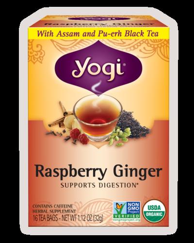 ヨギ ラズベリージンジャー ティー 3箱セット(Yogi Raspberry Ginger)