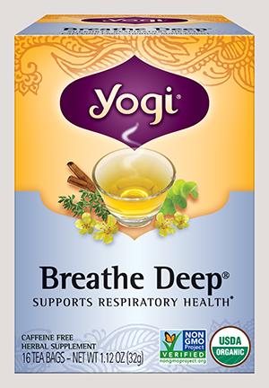 ヨギ ティー ブレスディープティー3箱セット(Yogi Breathe Deep)