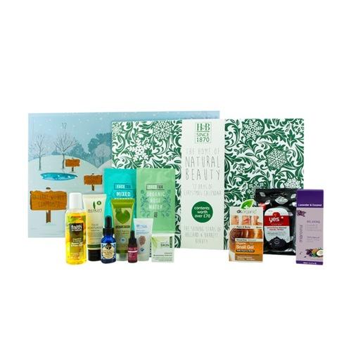 <2017クリスマスコフレ イギリス限定 >ホランド&バレット ナチュラルビューティー アドベントカレンダー(Holland & Barrett Natural Beauty Advent Calendar)日本未発売 送料込み