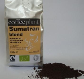 Coffee Plant -SUMATRAN BLEND ORGANIC FAIRTRADE 250G GROUND-