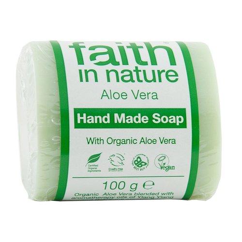 Faith in Nature Aloe Vera with Ylang Ylang ソープ