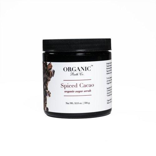 オーガニックスクラブ★スパイスドカカオオーガニックボディスクラブ 306g /Spiced Cacao Organic Body Scrub