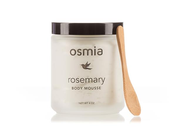 ローズマリー・ボディ・ムース/オールスキン用『 Osmia Organics・オズミア オーガニクス』